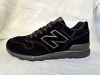 Мужские кроссовки New Balance 1400 черные замшевые