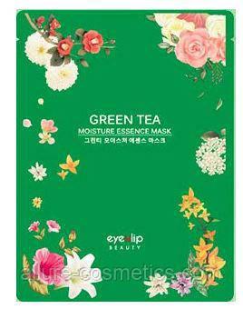 Увлажняющая тканевая маска EYENLIP Moisture Essence Mask - Green Tea