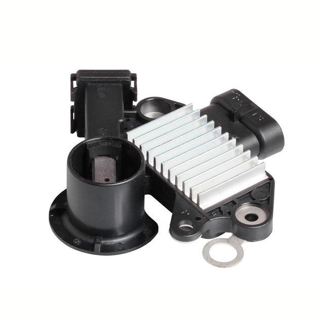 Интегральный регулятор напряжения со щёточным узлом Chevrolet Aveo 1,4-1,6/Lacetti (2конт) VRR 0549 СтартВольт