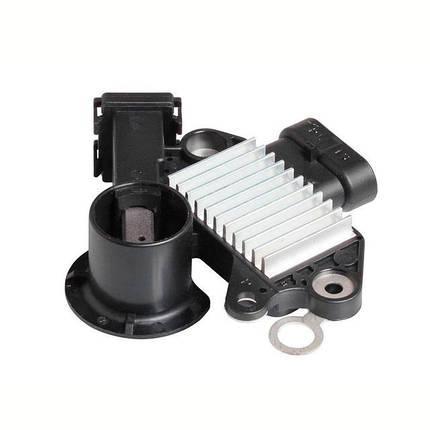 Интегральный регулятор напряжения со щёточным узлом Chevrolet Aveo 1,4-1,6/Lacetti (2конт) VRR 0549 СтартВольт, фото 2
