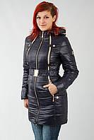 Осенняя женская куртка  VALERY - AE-07 сер скидка
