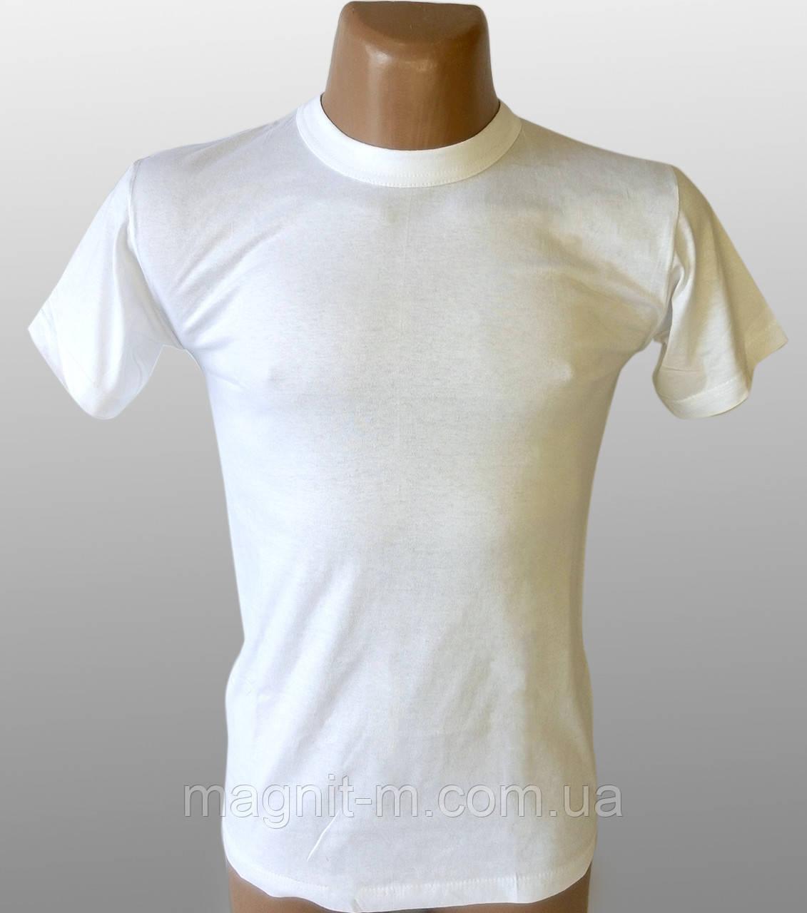 """Футболка """"EZGI"""" Біла. Розмір S(48-50) №56. Бавовна."""
