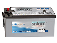 Аккумулятор 6CT-220 Аз (3) AGM Start Ultimate (Бесплатная доставка)