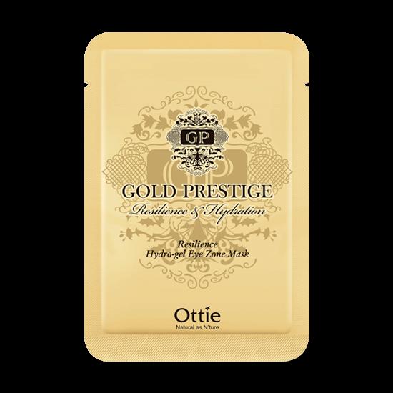 Патчи под Глаза с Золотом Ottie Gold Prestige Resilience Hydrogel Eye Zone Mask 1 пара