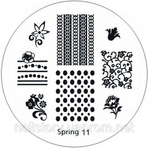 Диск для стемпинга Spring 11