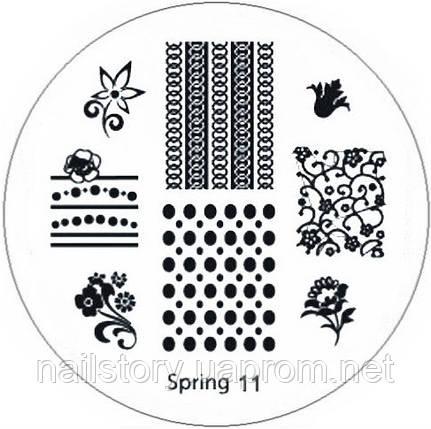 Диск для стемпинга Spring 11, фото 2