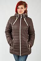 Осенняя женская куртка  For WOMAN - 11-11 кор скидка