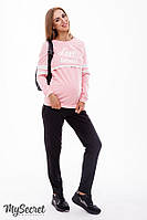 Спортивные брюки для беременных BENJI, черные*, фото 1