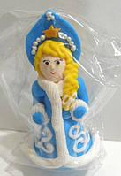 """Сахарное украшение на торт """"Снегурочка"""""""