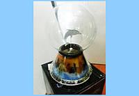 Плазменный Шар Plasma Ball Дельфин