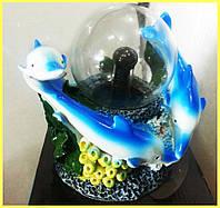 Плазменный Шар Дельфины в Кораллах, фото 1
