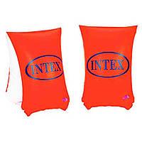 Пляжные Надувные Нарукавники Intex для Безопасного Плавания Ребенка от 6 до 12 лет