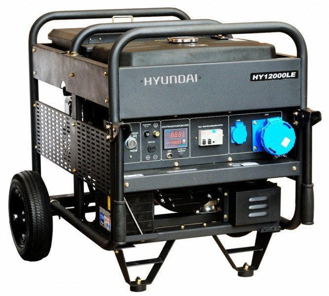 Генератор бензиновый Hyundai Professional HY 12000LE (10 кВт)