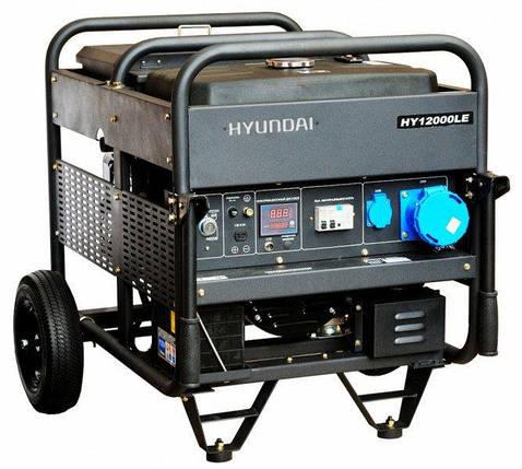 Генератор бензиновый Hyundai Professional HY 12000LE (10 кВт), фото 2