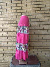 Юбка-сарафан летняя в пол коттоновая CHALIE, фото 2