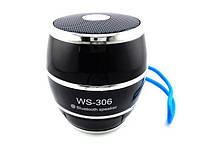 Портативная MP3 Колонка Bluetooth WS 306 USB FM am, фото 1