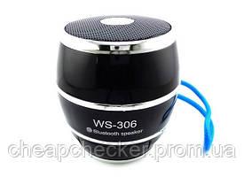 Портативная MP3 Колонка Bluetooth WS 306 USB FM am