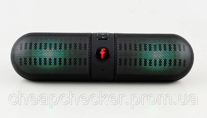 Портативная Аккумуляторная MP3 Колонка BT-808L Bluetooth USB FM am