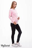 Брюки-skinny для беременных NAOMI NEW, из стрейчевого материала, черные*, фото 1