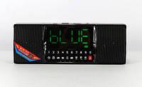 Портативная Аккумуляторная MP3 Колонка Часы WS 1515 BT Bluetooth USB FM SD
