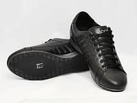 Весенние кожаные кроссовки в стиле ECCO черные подростковые шнуровые 36-39р. ca62a339b8349