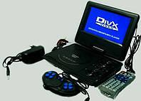 Портативный DVD Плеер 789 USB Game TV 7,5 дюймов, фото 1