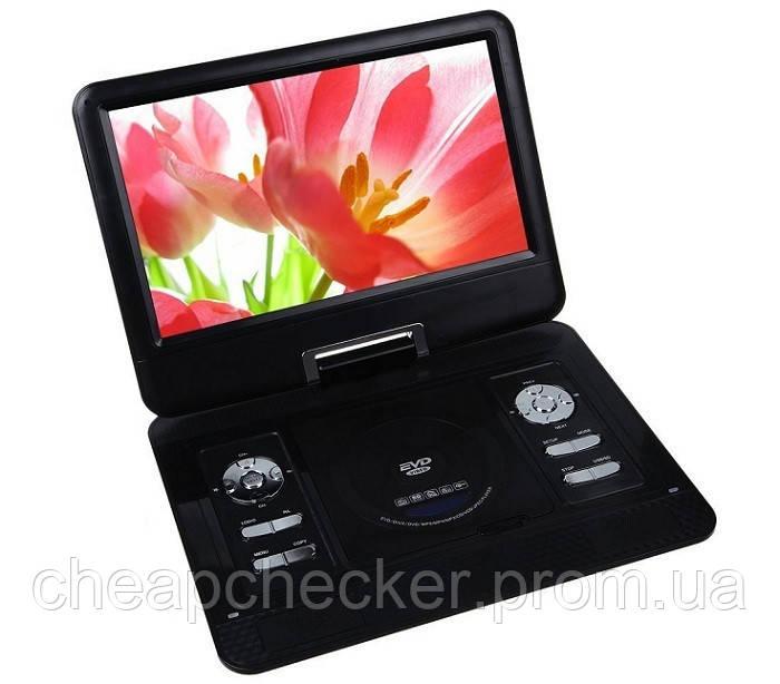 Портативный DVD Плеер Portable NS-1320 Game EVD USB CD TV FM 16 Дюймов am