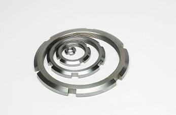 Гайка круглая шлицевая из нержавейки М30х1,5 DIN 981, ГОСТ 11871-88, фото 2