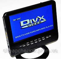 Портативный Телевизор TV 777 D USB SD 7,5 дюймов