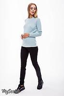 Джинсы-skinny fit для беременных PAIA WARM, из плотного материала с начесом, черные, фото 1