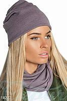 Комплект шапка снуд Gepur 18277