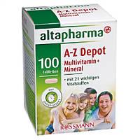 Altapharma A-Z Depot Multivitamin + Mineral Tabletten -  поливитамины + минералы