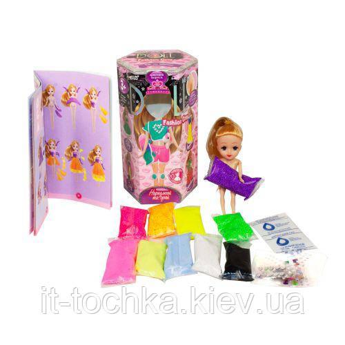 Набор креативного творчества dankotoys clpd-02-02u princess doll