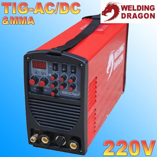 Аргонная сварка Welding Dragon TM200ACDC Pulse HF