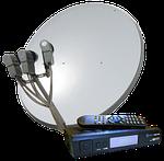 Самые популярные комплекты для спутникового ТВ