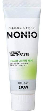 Зубная паста LION Nonio отбеливающего и длительного освежающего действия 130 г (259312), фото 2