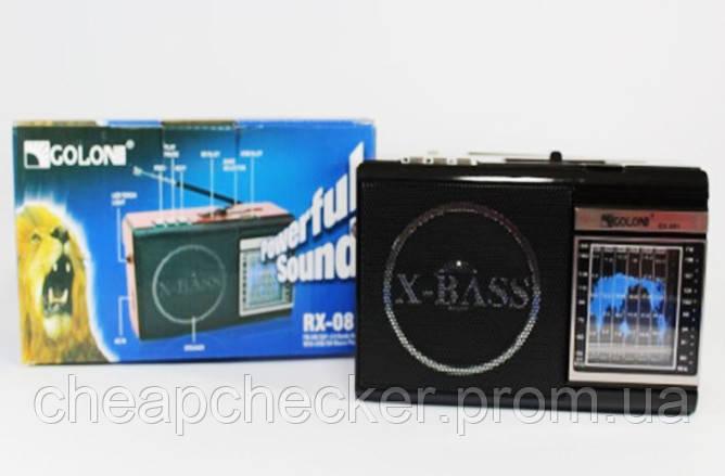 Радиоприемник Колонка MP3 USB Golon RX 080