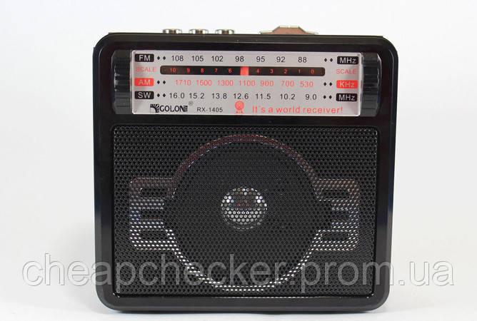 Радиоприемник Колонка MP3 USB RX 1405