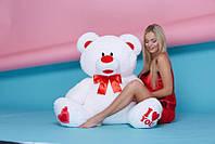 Мягкая игрушка мишка Сеня (5) белый 140 см плюшевый медведь большая мягкая игрушка плюшевый мишка 140 см