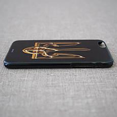 Чехол Ukraine iPhone 6 большой герб Украины gold, фото 3