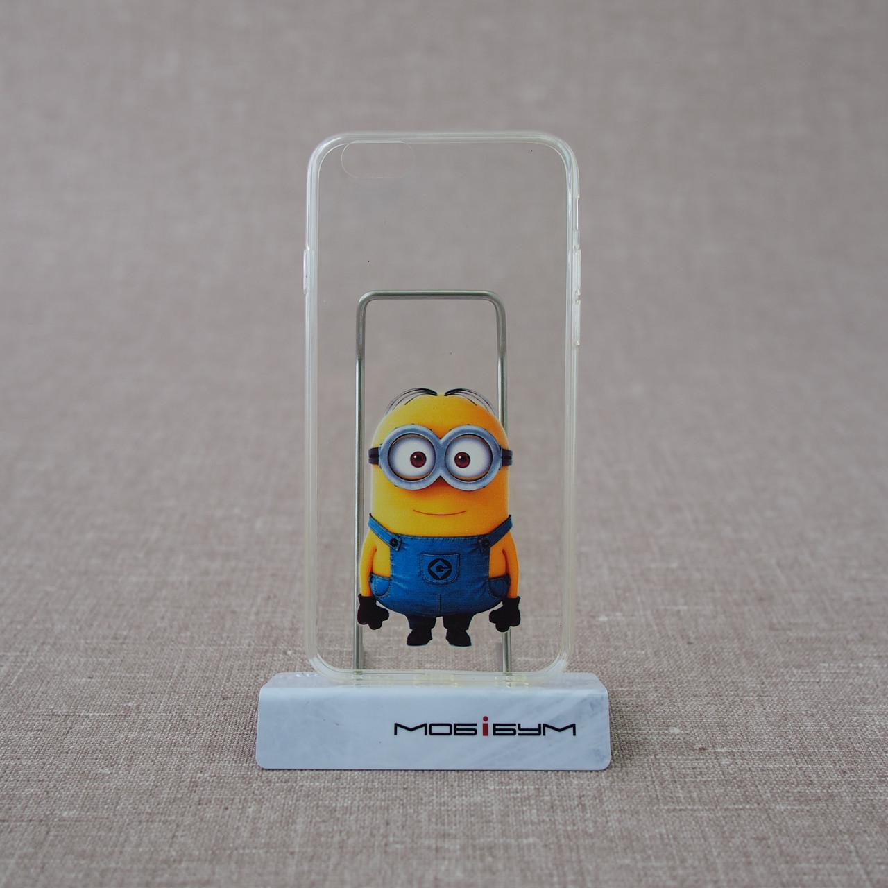 Чехол TPU 0.3mm iPhone 6 minions