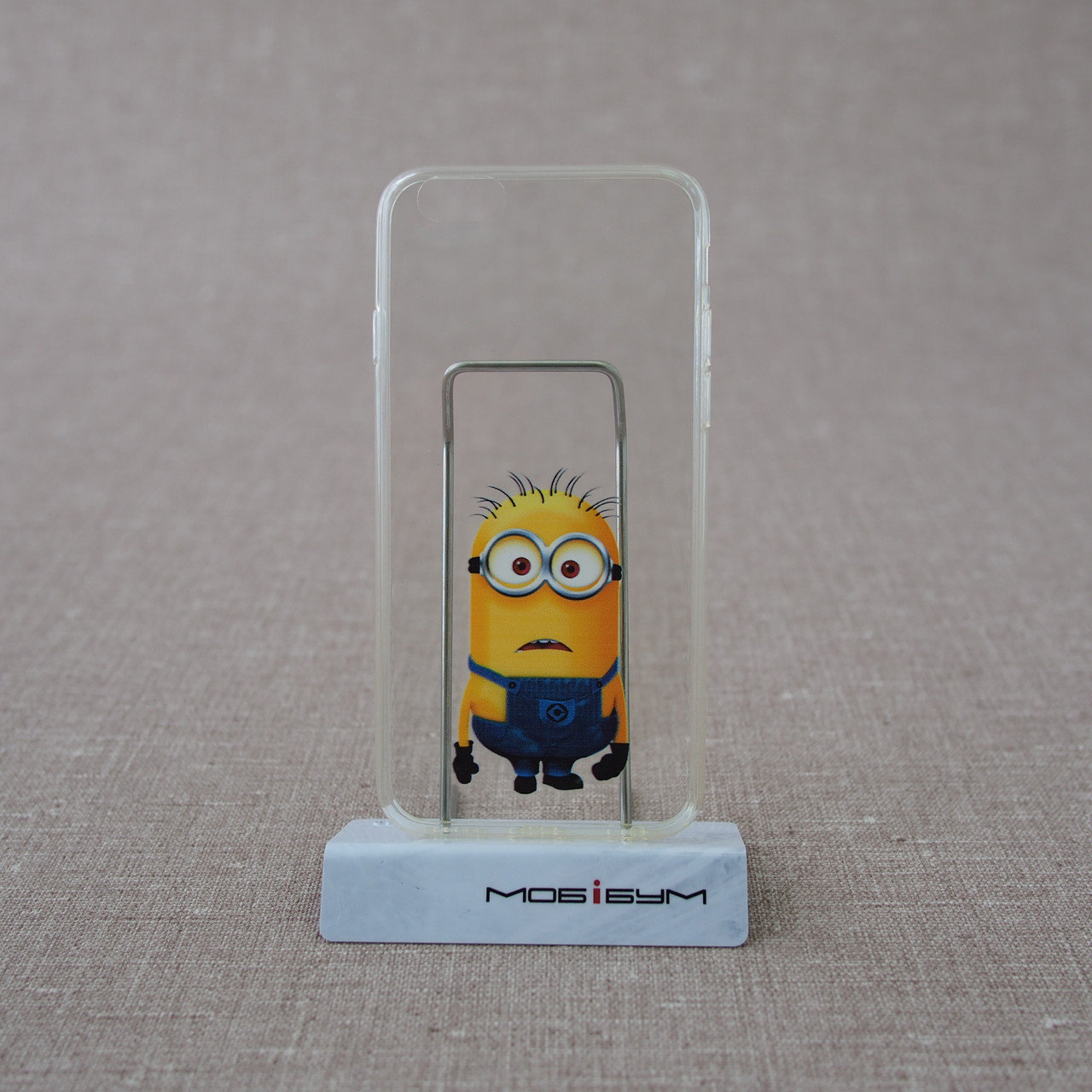 Чехол TPU 0.3mm iPhone 6 minions Для телефона