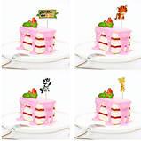 Шпажки детские для торта, для кексов - 8шт., фото 3