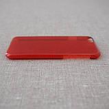 Чехол пластик iPhone 6 red, фото 4