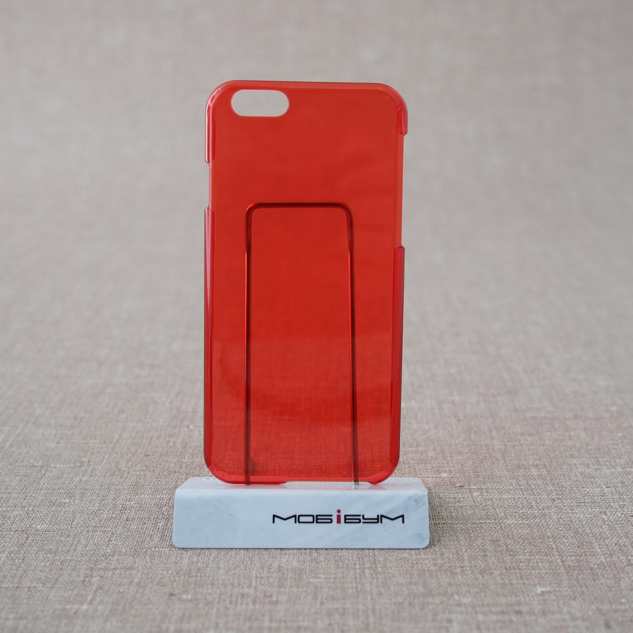 Чехол пластик iPhone 6 red