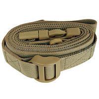 Трехточечный ремень drop sling SA80, койот. Великобритания, оригинал.
