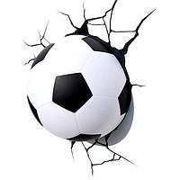 Светильник 3D Футбольный Мяч