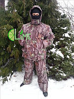 Костюм для охоты и рыбалки, Лес 3D зеленый