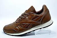Мужские кроссовки в стиле Reebok Classic Leather Lux CF, Brown
