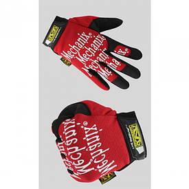 Перчатки рабочие Mechanix Fast Fit красные